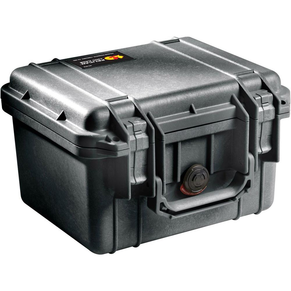 Pelican 1300 Case with Foam in Black