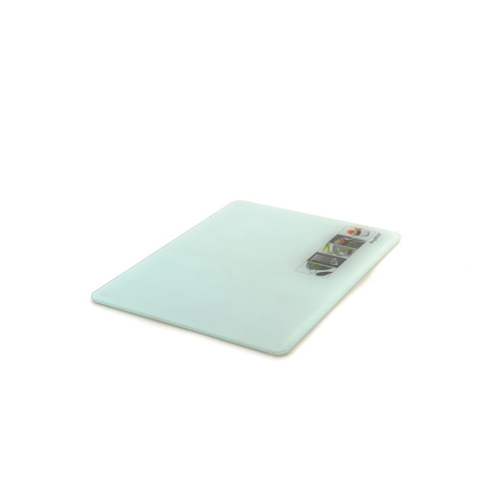 Berghoff studio tempered glass cutting board 1107028 the home depot - Decorative tempered glass cutting boards ...