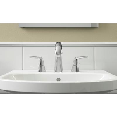 Elmbrook 8 in. Widespread 2-Handle Bathroom Faucet in Polished Chrome