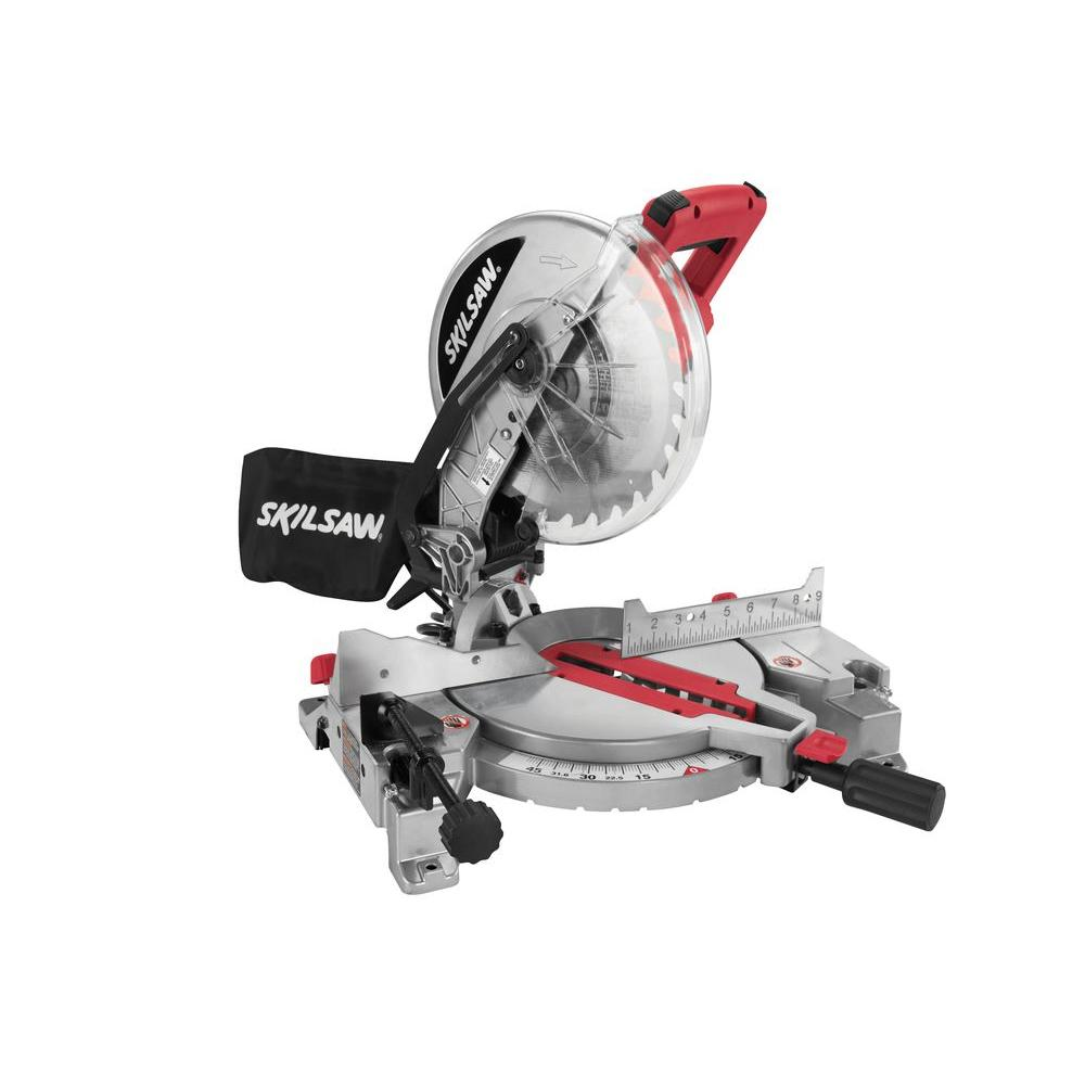 Skil 15 Amp Corded Electric 10 in. Compound Miter Saw with Quick-Mount System and Laser