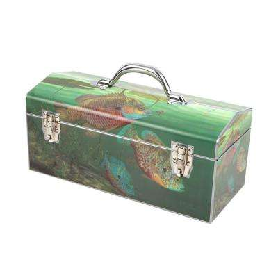 16 in. Too Good to be True Dual Latch Art Tool Box