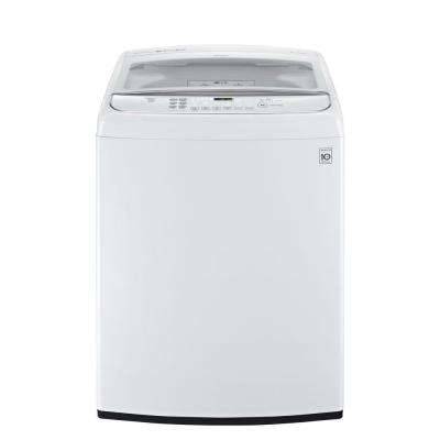 4.9 cu. ft. High-Efficiency Top Load Washer with Steam and TurboWash in White, ENERGY STAR