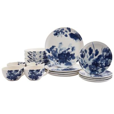Tranquility 16-Piece Earthenware Dinnerware Set (Service for 4)