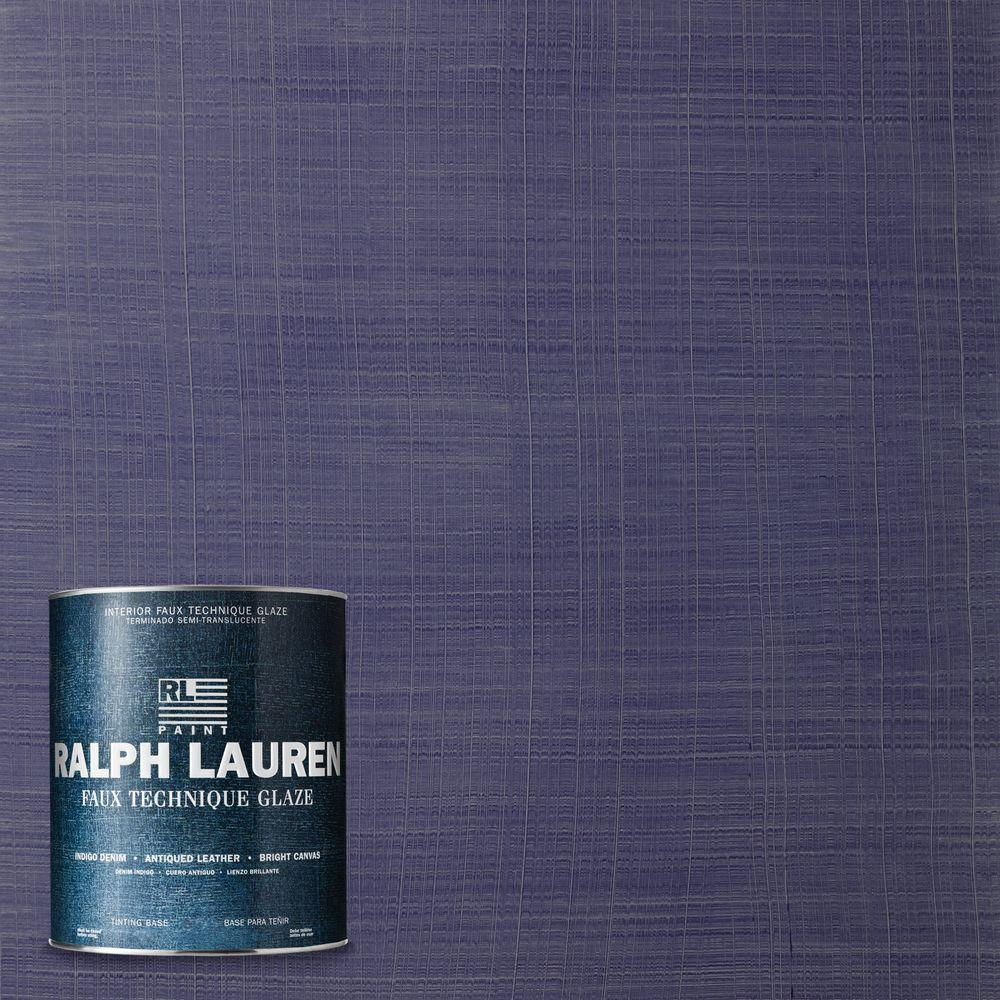 Ralph Lauren 1-qt. Catamaran Blue Bright Canvas Specialty Finish Interior Paint