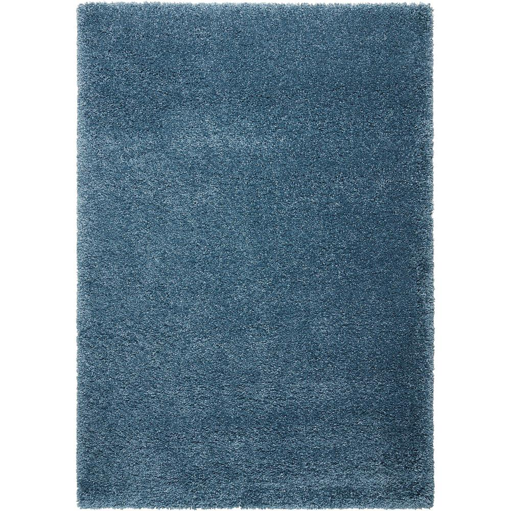 Nourison Amore Slate Blue 5 Ft 3 In X 7 Ft 5 In Area