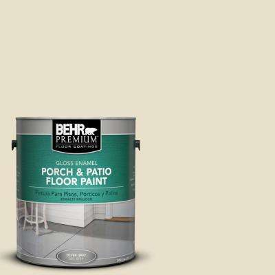 1 gal. #PPU8-14 Silky Bamboo Gloss Interior/Exterior Porch and Patio Floor Paint
