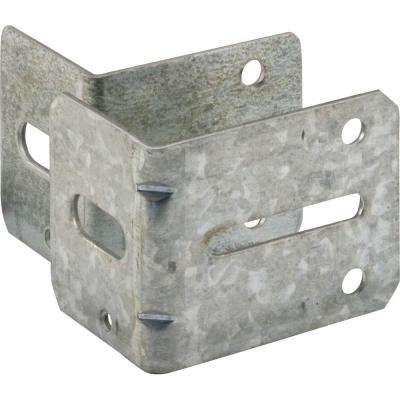 1EA #1and #3 Garage Door Track Brackets with Fasteners