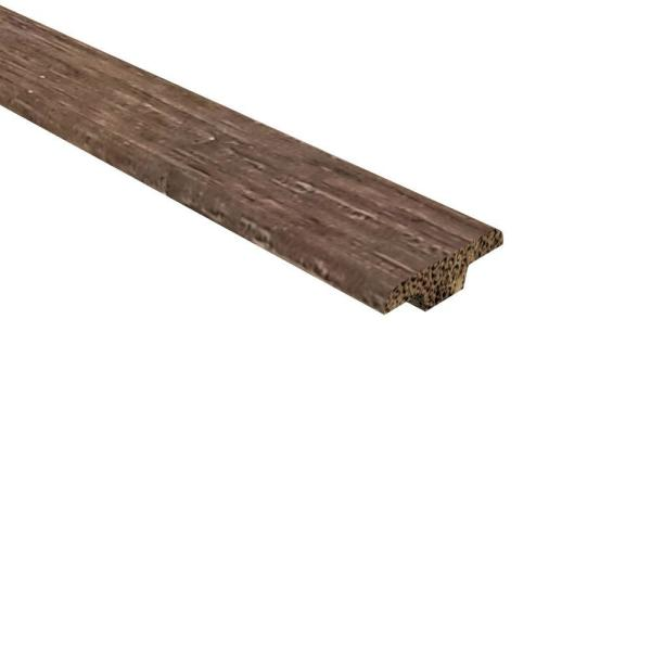 Strand Woven Bamboo Gallaway 0.362 in. T x 1.25 in W x 72 in. L Bamboo T Molding