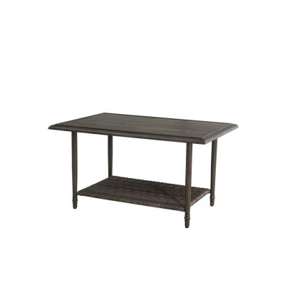 Windsor Brown Steel Outdoor Coffee Table