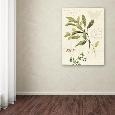"19 in. x 14 in. ""Aromantique IV"" by Lisa Audit Printed Canvas Wall Art"