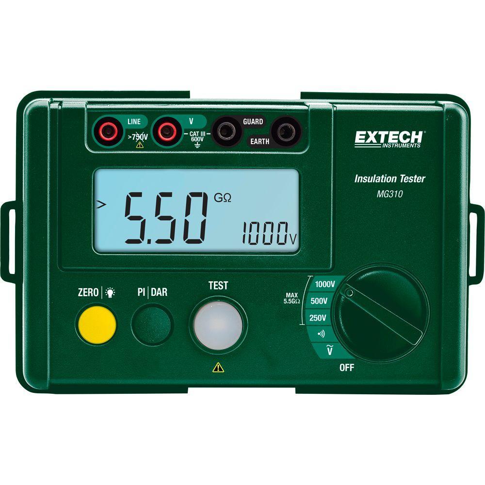 Extech Compact Digital Insulation Tester