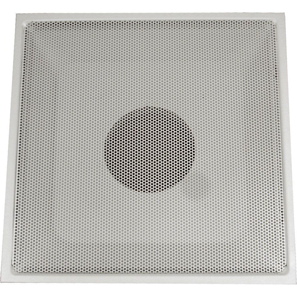 24 in. x 24 in. Drop Ceiling T-Bar Perforated Face Return