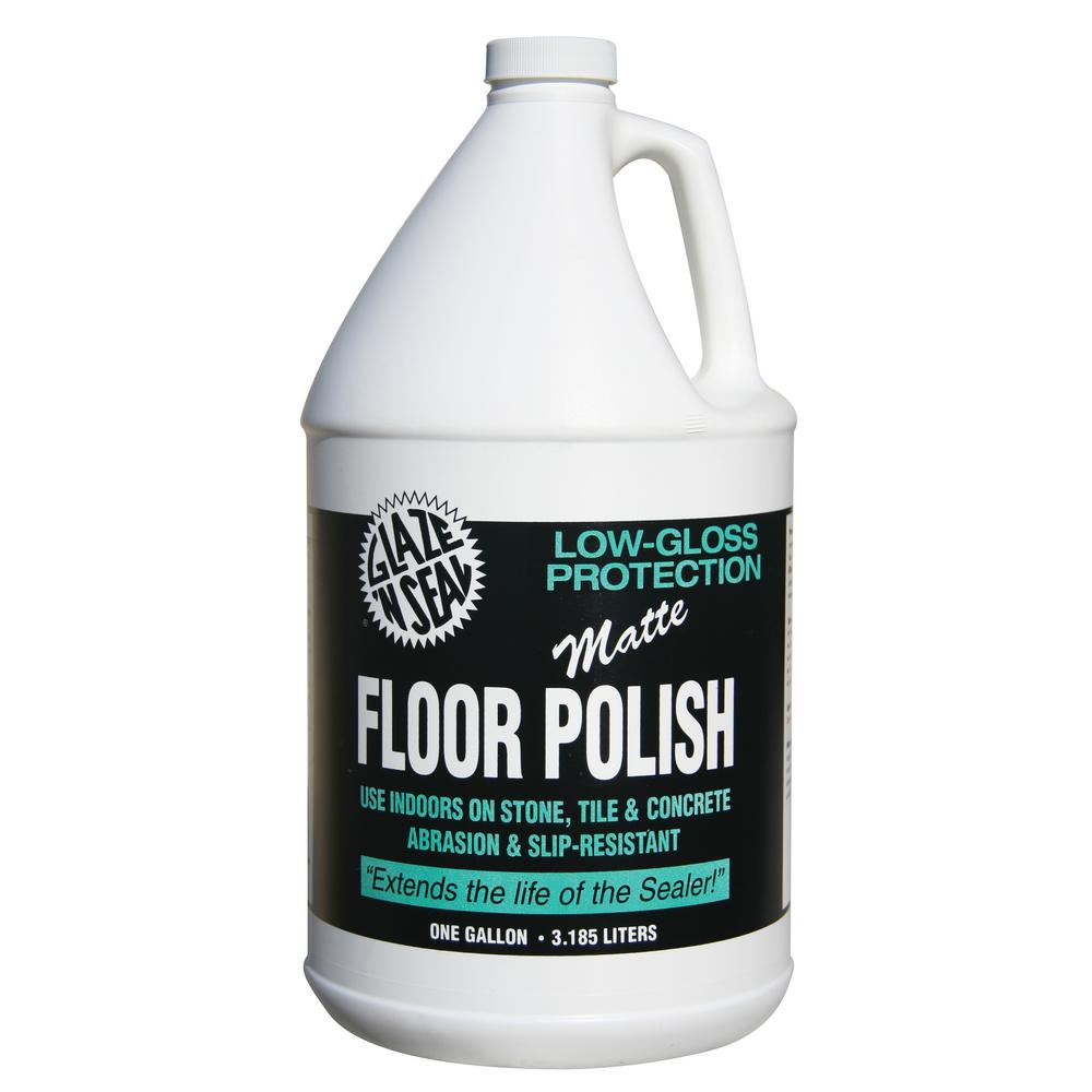 1 gal. Concrete Low Gloss Matte Floor Polish