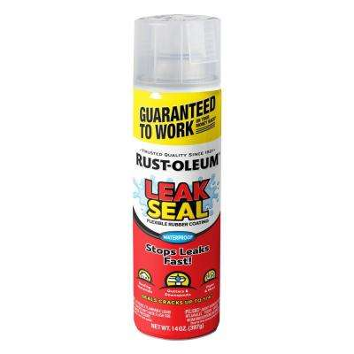 15 oz. LeakSeal Clear Flexible Rubber Coating Spray Paint