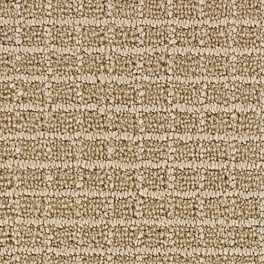 Martha Stewart Living Lyndhurst Brown Alpaca 6 in. x 9 in. Take Home Sample-DISCONTINUED