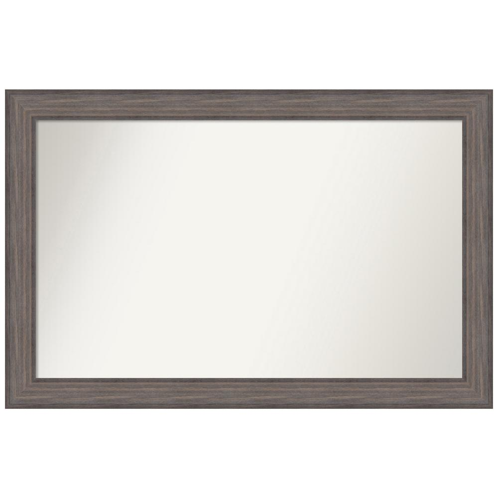 Amanti Art Choose Your Custom Size 46.25 in. x 30.25 in. Country Barnwood Decorative Wall Mirror was $549.95 now $265.07 (52.0% off)