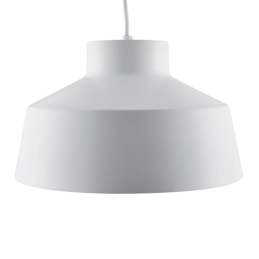 Southern Enterprises Trea 1-Light White Pendant Lamp was $79.99 now $36.22 (55.0% off)