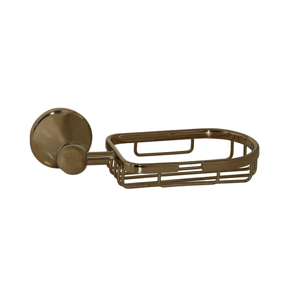 Barclay Products Kendall Wall-Mounted Soap Dish in Polished Brass