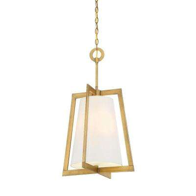 Hyde Park 3-Light Vintage Gold Interior Incandescent Hall and Foyer