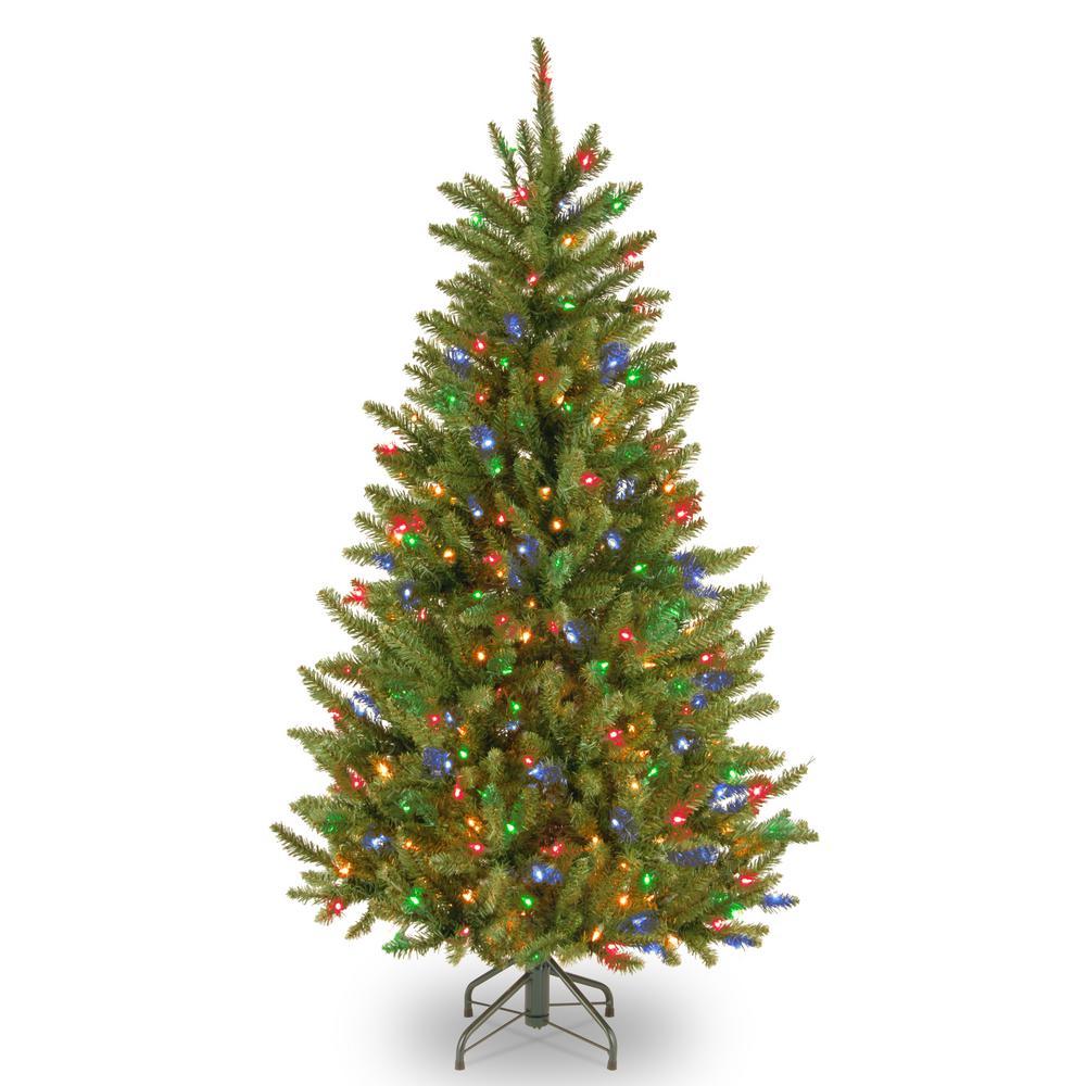 National Tree Company 4 5 Ft Natural Fraser Slim Fir Tree