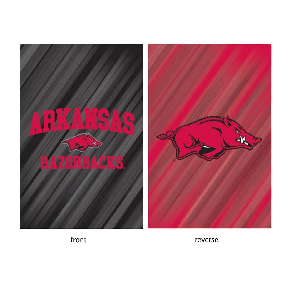 Fan Essentials NCAA 18 in. x 12.5 in. University of Arkansas Suede Garden Flag