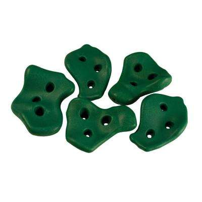 Green Rock Wall Rocks (5-Piece Set)