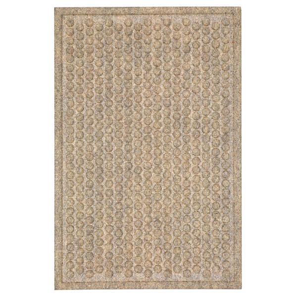 Dots Impressions Chestnut 36 in. x 48 in. Impressions Mat