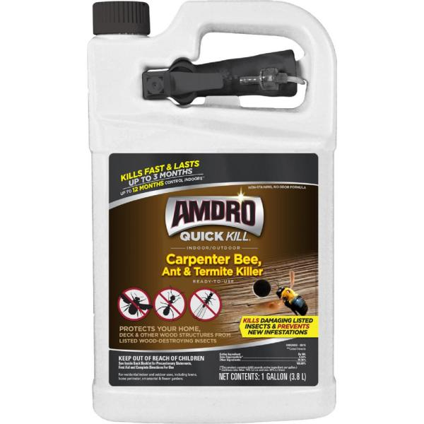 1 Gal. Quick Kill Carpenter Bee, Ant, and Termite Killer Ready-to-Use
