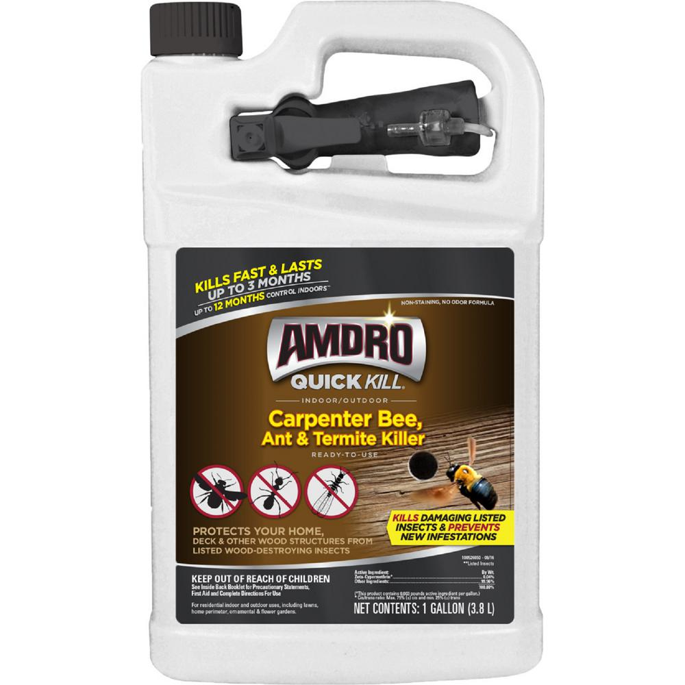 AMDRO 1 Gal. Quick Kill Carpenter Bee Killer Ready-to-Use