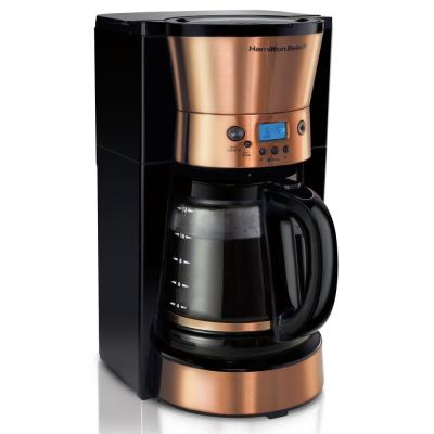 12 Cup Programmable Coffeemaker in Copper