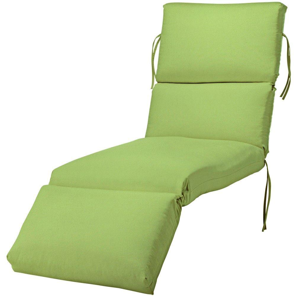 Home Decorators Collection 23 X 80 Outdoor Chaise Lounge Cushion In