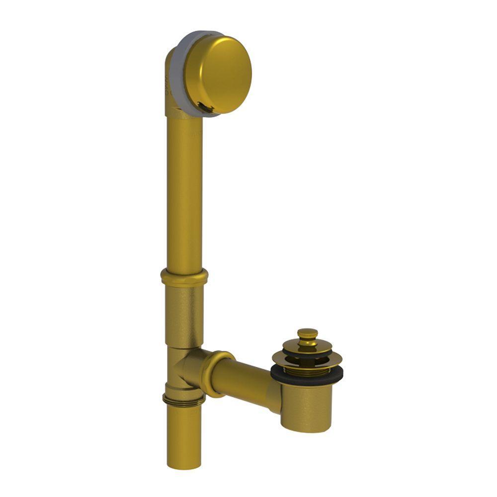 Watco 591 Series 16 in. Tubular Brass Bath Waste with Lif...