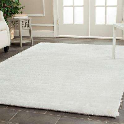 3D Shag Pearl 8 ft. x 10 ft. Area Rug