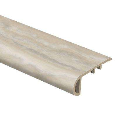 Aegean Travertine Natural 3/4 in. Thick x 2-1/8 in. Wide x 94 in. Length Vinyl Stair Nose Molding