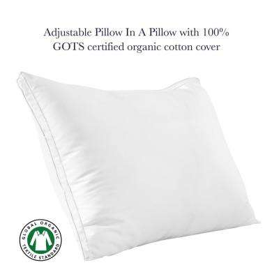 A1HC Down Alternative and Shredded Memory Foam Gusset Pillow
