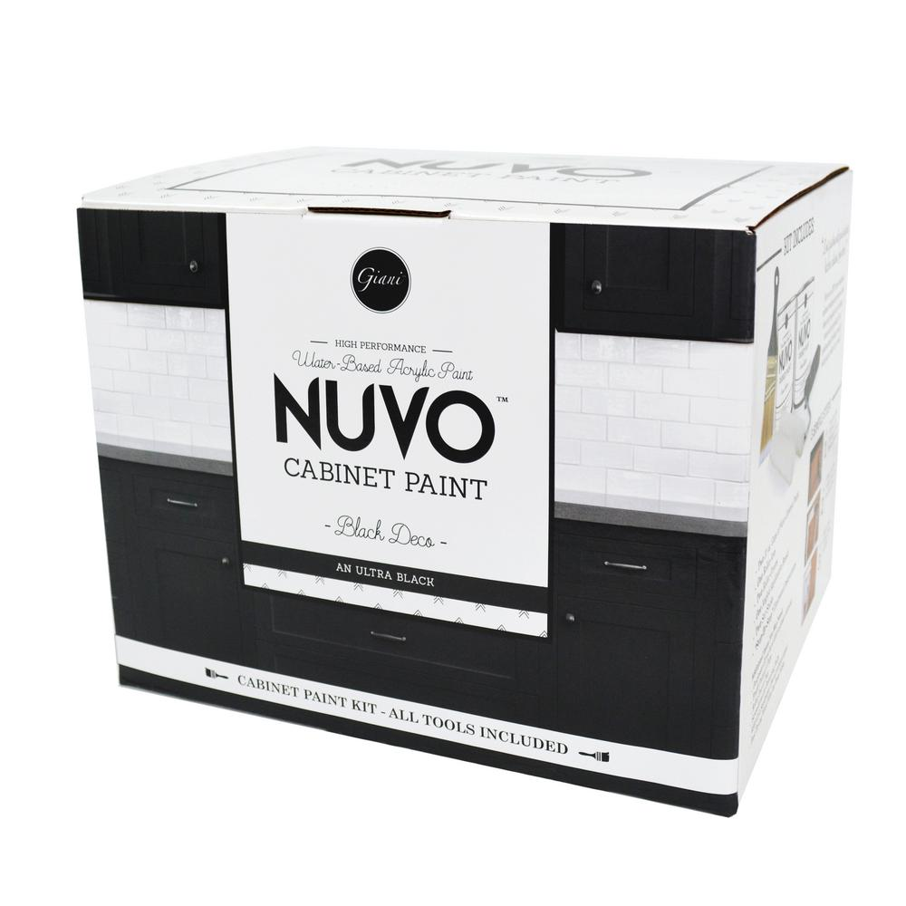 NuVo 2 qt. Black Deco Cabinet Paint Kit