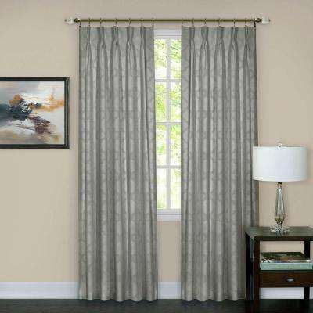 Windsor Pinch Pleat Window Curtain Panel