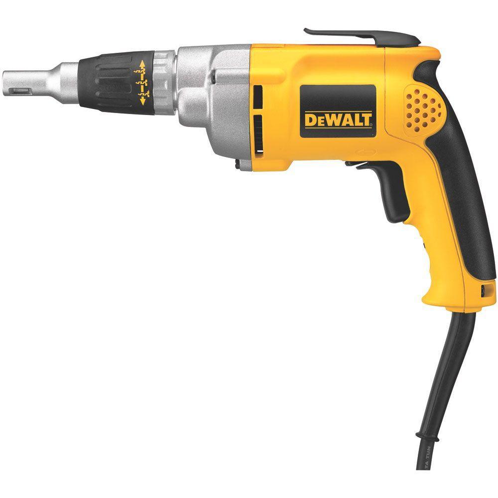 Dewalt DW276 6.5 Amp 2,500 RPM VSR Drywall/Framing Screwdriver