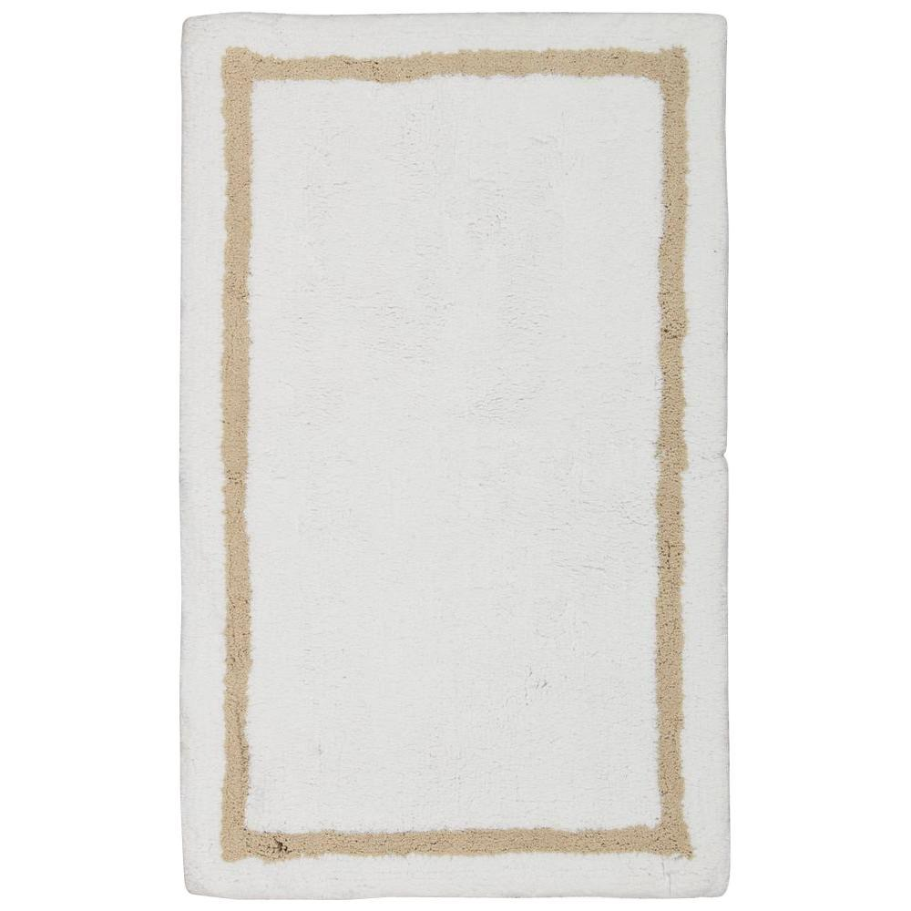 Plush Beige 1 ft. 9 in. x 2 ft. 10 in.