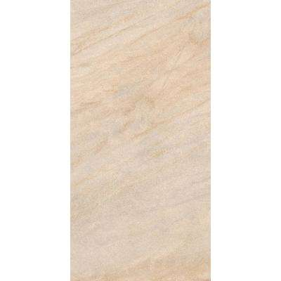 Caledonia Sand 12 in. x 24 in. Porcelain Floor and Wall Tile