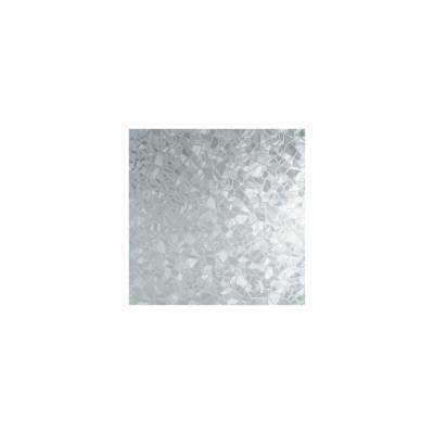 2.5 in. x 18 in. Etched Glass 1-Roll StickShades