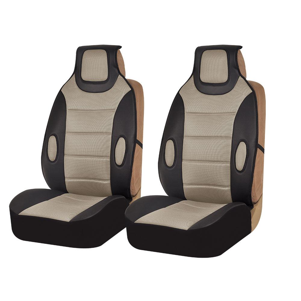 Leatherette 21 in. x 20 in. x 3 in. Front Seat