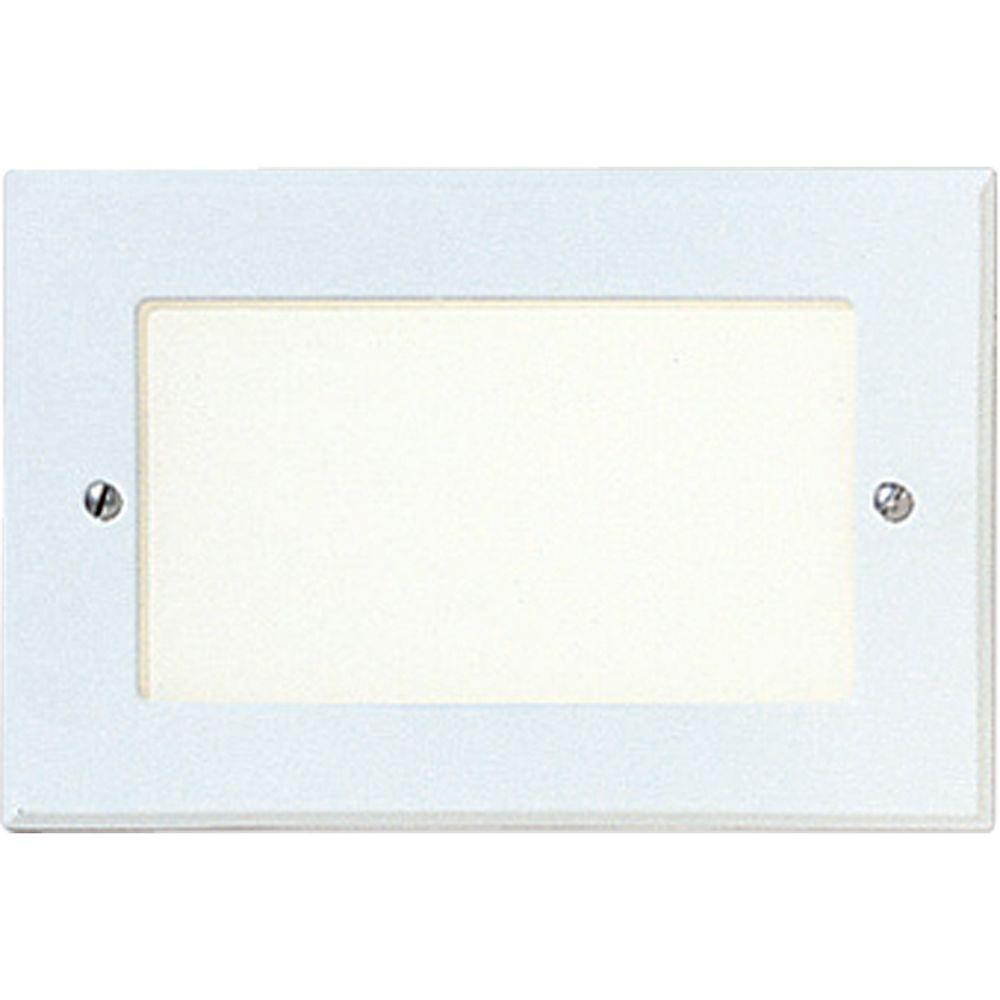 1-Light White Step Light