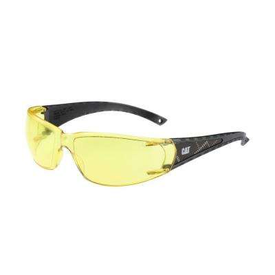 Safety Glasses Blaze Yellow Lens with Case