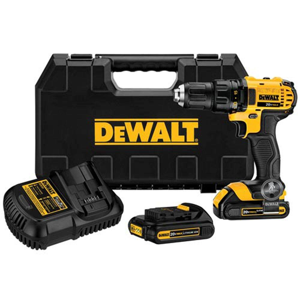 DEWALT 20-Volt MAX Lithium-Ion Cordless Compact Drill/Driver