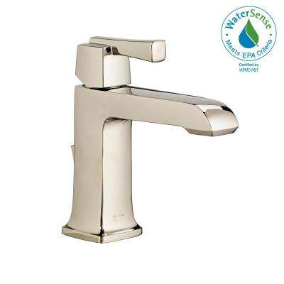 Townsend Single Hole Single-Handle Bathroom Faucet with Speed Connect Drain in Polished Nickel