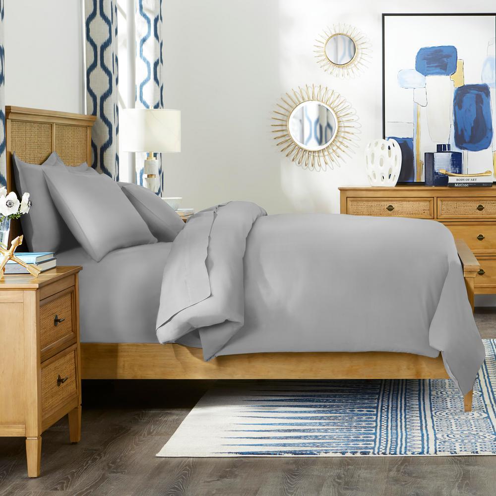Home Decorators 500-Thread Count Egyptian Cotton 3-Piece Cover Set