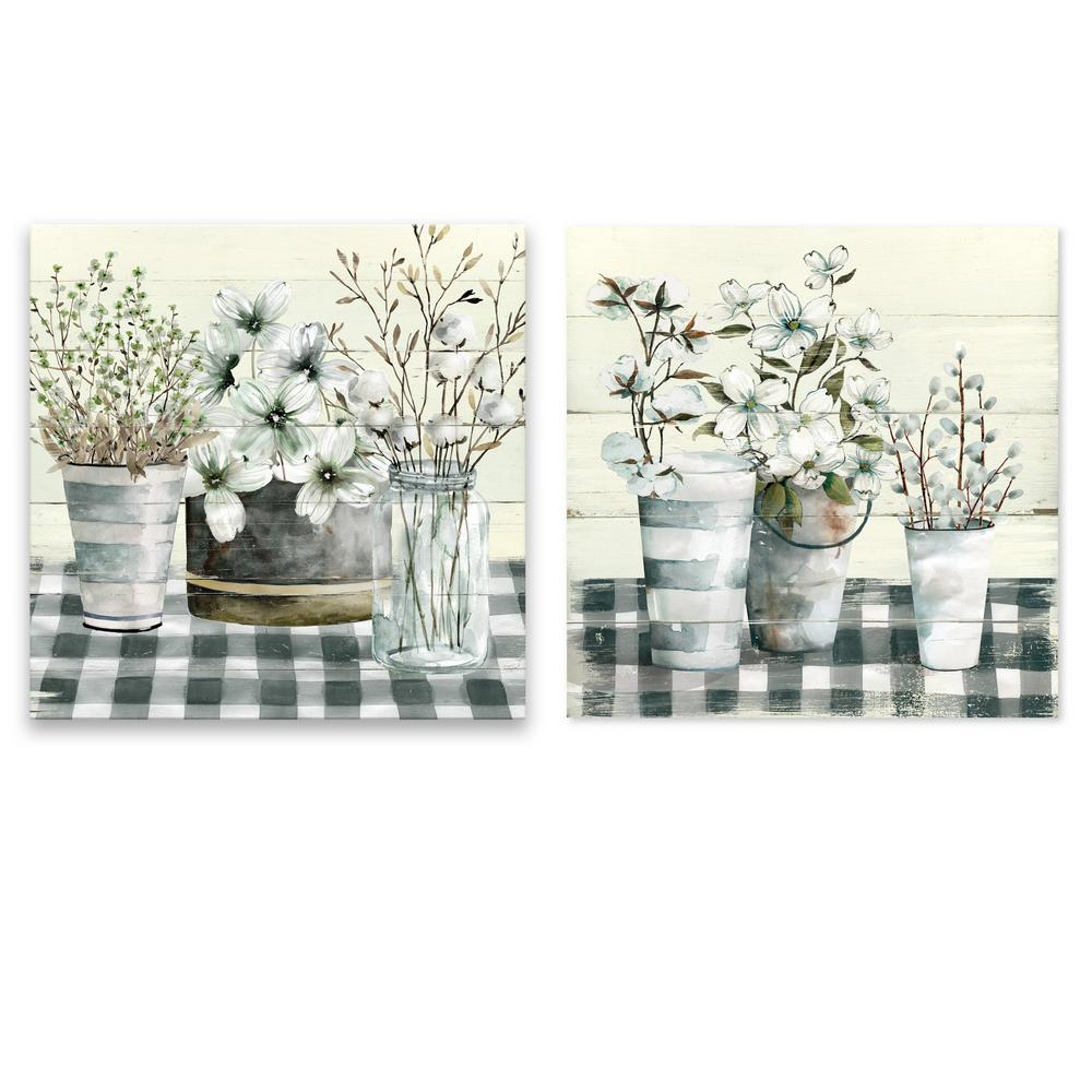Artissimo Designs Spring Gingham I and IIby Carol Robinson Canvas Wall Art (Set of 2), Other was $60.99 now $42.16 (31.0% off)