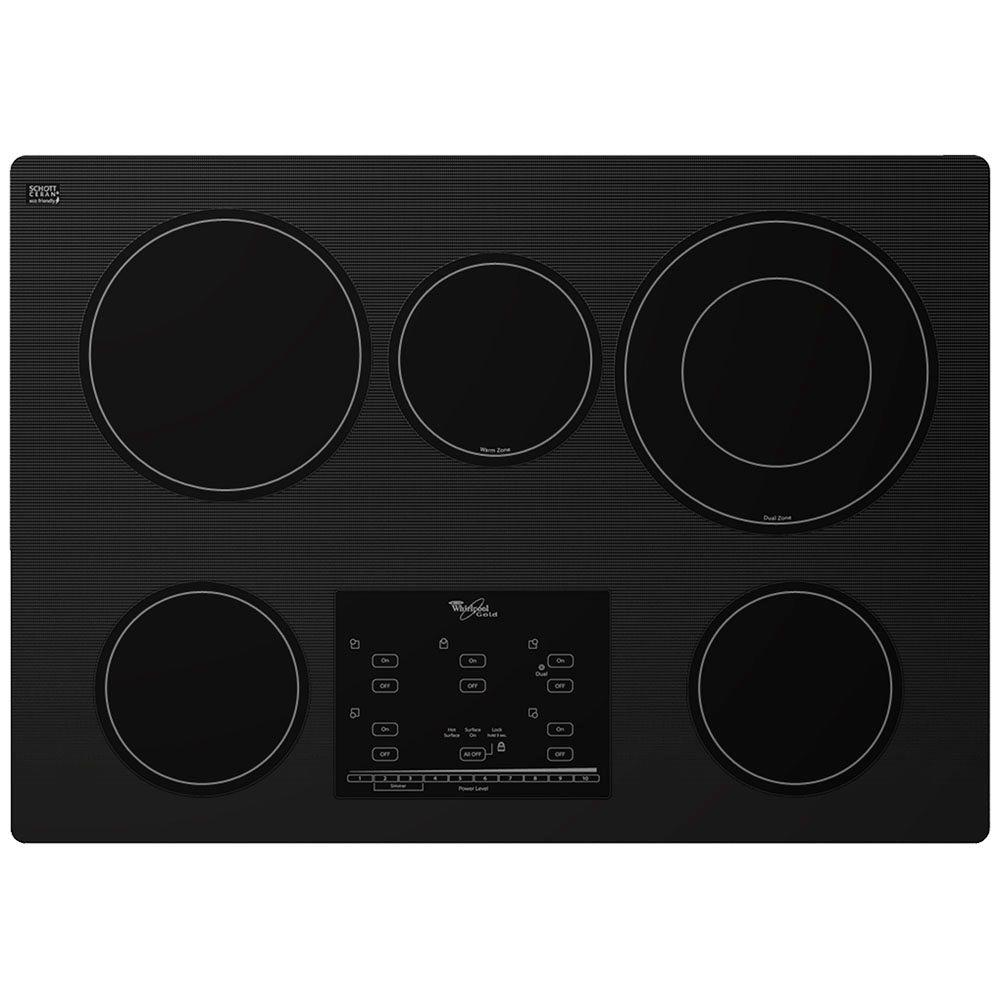 Whirlpool Gold 30 in. Radiant Electric Cooktop in Black w...