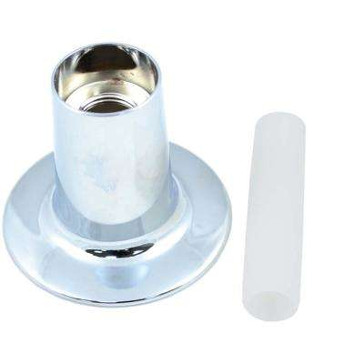 2.7 in. O.D. Flange and Nipple for Price Pfister Faucets in Chrome